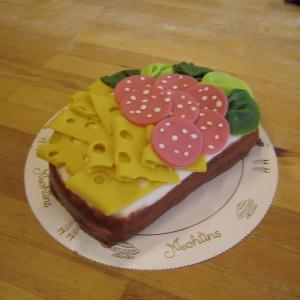 Figurtårta - Smörgås